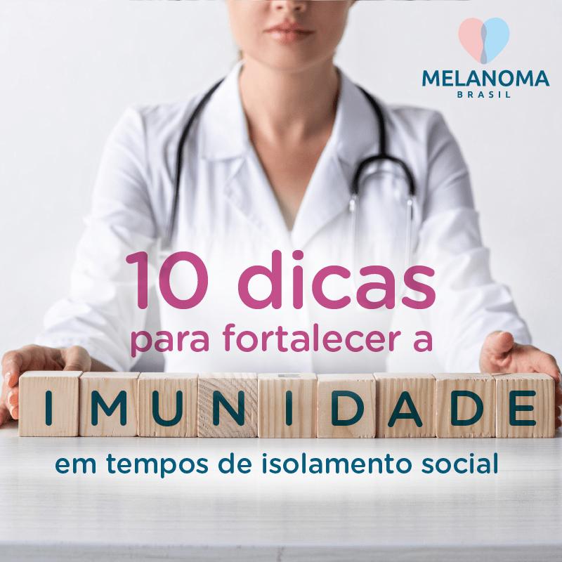 10 dicas para fortalecer a imunidade em tempos de isolamento social