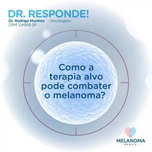 Como a terapia-alvo pode combater o melanoma?