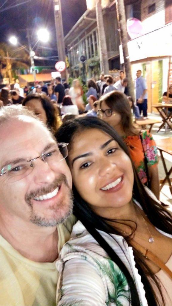 Anny Tittonio e o marido Zioran, paciente de melanoma