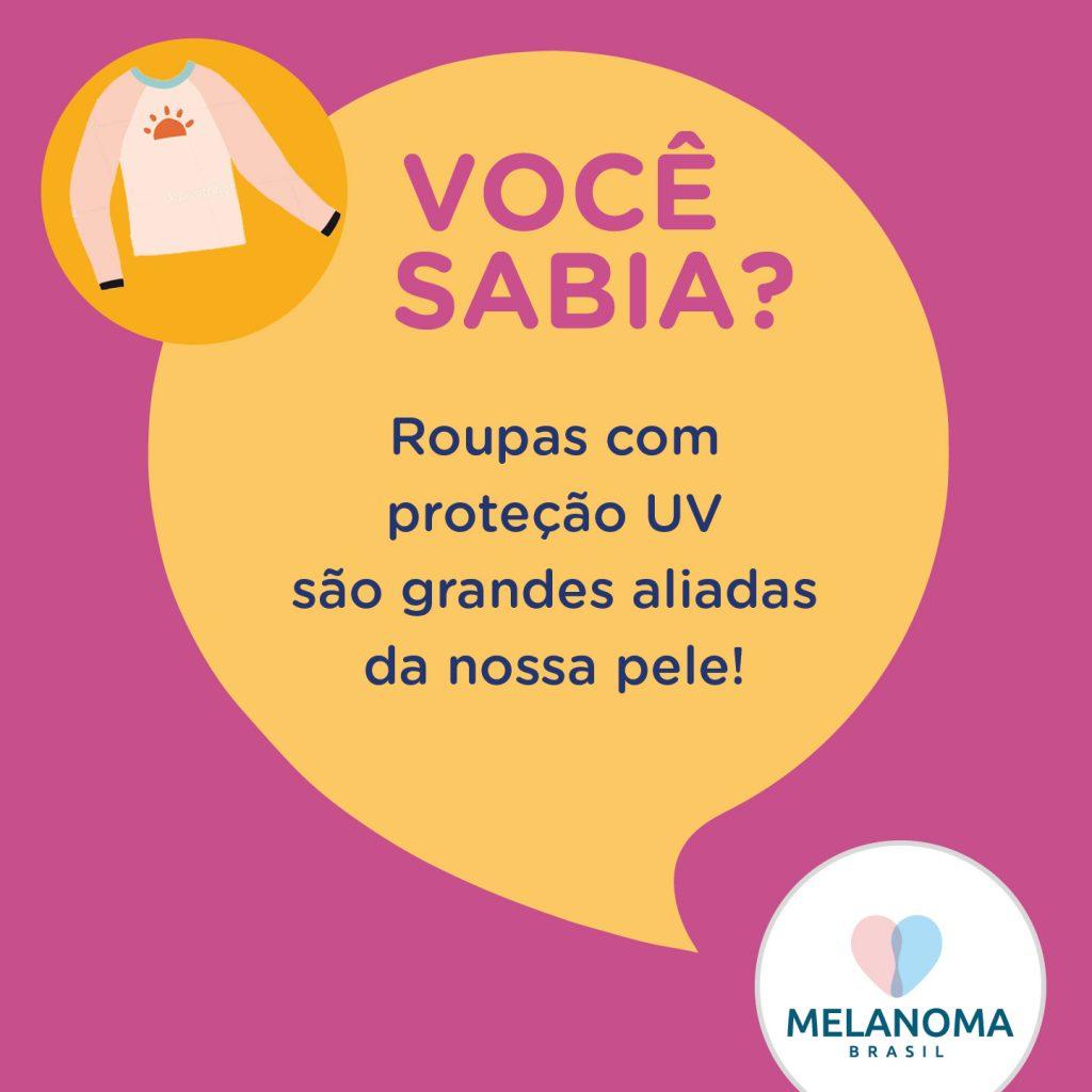 roupas com proteção UV são grandes aliadas na nossa pele