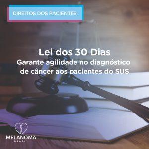 Lei dos 30 dias assegura agilidade no diagnóstico de câncer