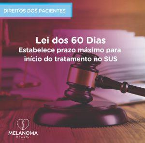Lei dos 60 dias estabelece prazo máximo para início do tratamento oncológico