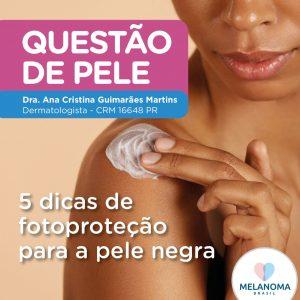 Cinco dicas de proteção solar para a pele negra